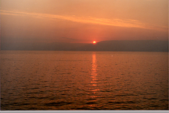 The Sea of Galilee, Tiberias, Israel, May, 2001